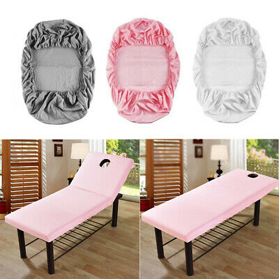 Pro Beauty Massage Elastic Fitted Bed Table Cover 190x70cm Salon Spa Couch Sheet