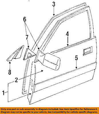TOYOTA 6749160020 GENUINE OEM OUTER COVER