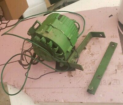 John Deere B Tractor 12 Volt Alternator With Bracket And V Belt brackets JD A