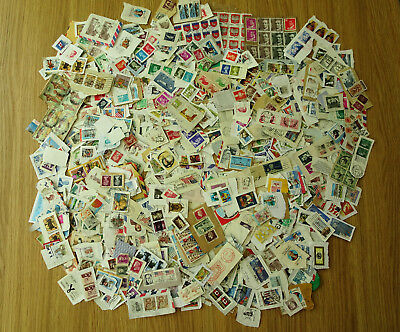 Stamps World Mixture  Collection 1000 Stamps  On Paper  Pk 10 Ardp Very Good Mix