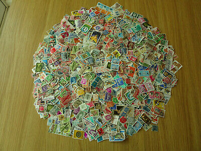 STAMPS WORLD MIXTURE / COLLECTION   2500   STAMPS  pack 1 ardt