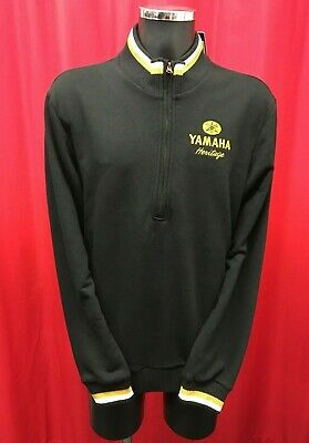 Yamaha motorcycle genuine heritage vintage apparel mens sweater hoodie size XL