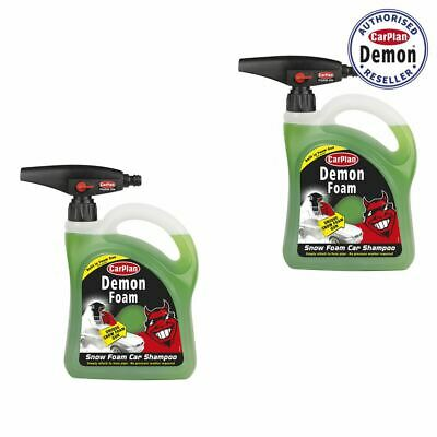 CarPlan Demon CDW200 Snow Foam Car Shampoo 2 Litre with Gun x 2