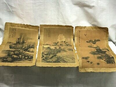 Collection Of 3 Chinese Silks