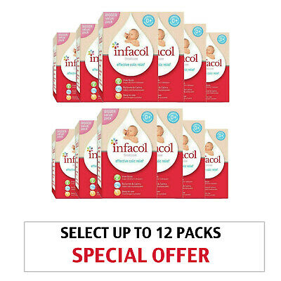 Select up to 12 Packs 55ml | Infacol Baby Anti Colic Relief Drops | Simeticone