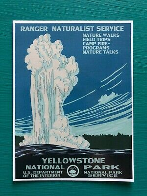 Mesa Verde Yellowstone Glacier Grand Tetons Parks Vintage Poster Repro Free S H Art Art Art Posters