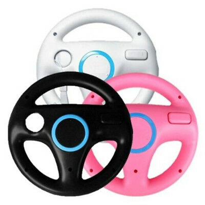 Game racing steering wheel for nintendo wii mario kart remote controller FLA