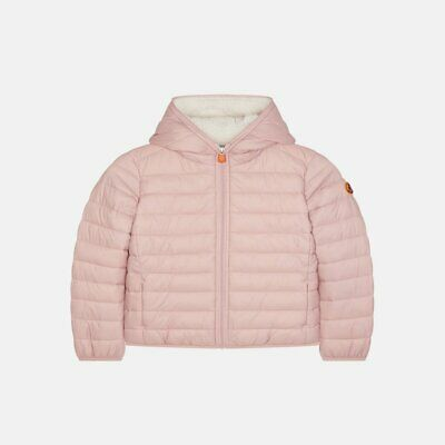 Save The Duck Girls Hooded Jacket 996 Blush Pink