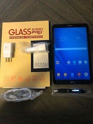 Samsung Galaxy Tab A SM-T580 16GB, Wi-Fi, 10.1in - Black NEW OPEN BOX BUNDLE