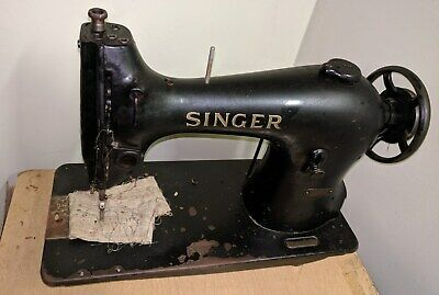 "Vintage electric sewing machine ""SINGER"""