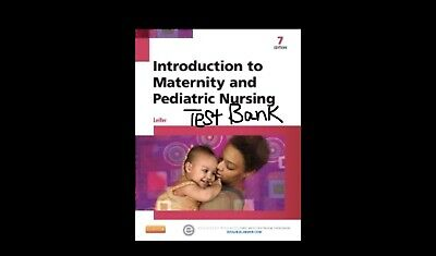 introduction to maternity and pediatric nursing. This Is Not The Book.. Testbank