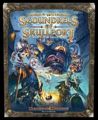Lords of Waterdeep Expansion: Scoundrels of Skullport 9780786964505 | Brand New