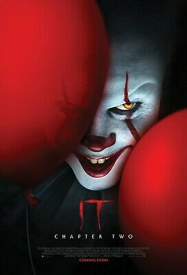 """It Chapter 2 movie poster (d) - 11"""" x 17"""" inches - Stephen King (2019)"""