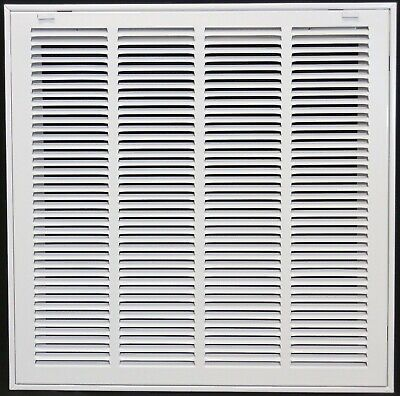 "22"" x 16"" Steel Return Air Filter Grill for 1"" Filter - Removable Face/Do... New"