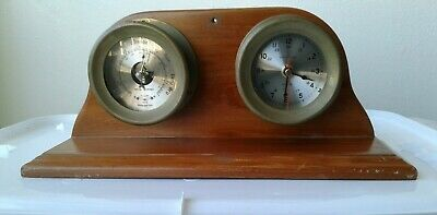Royal Mariner Ship's Clock And Barometer