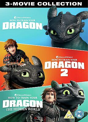 How to Train Your Dragon 3 Movie Collection DVD Box Set