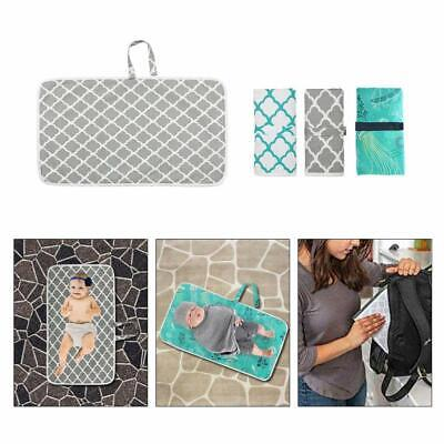 Portable Foldable Waterproof Baby Nappy Diaper Travel Home Changing Mat Pad UK
