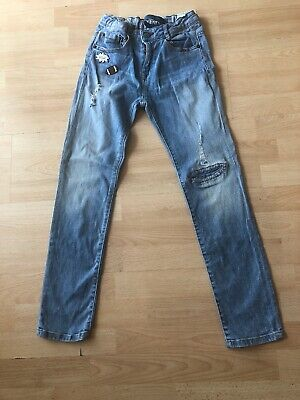 Boys Zara adjustable waist Jeans Aged 9/10 Years