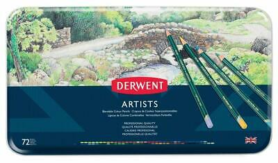 Derwent  Artists Colouring Pencils, set of 72 Professional Quality Brand new