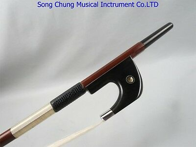 Germany style Professional master double bass bow Pernambuco silver bass bow 3/4