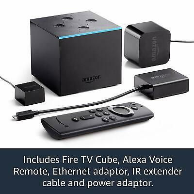 All-new Fire TV Cube   Hands free with Alexa, 4K Ultra HD streaming media player