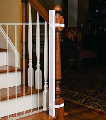 "EZ-Fit: 36"" Baby Gate Walk Thru Adapter Kit for Stairs + Child and Pet Safety -"