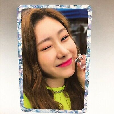 Itzy Chaeryeong Official 1st Mini Album IT'z ICY Photocard Photo Card jyp Kpop