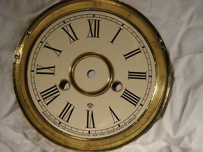 Antique Ansonia Shelf Kitchen Gingerbread Clock Dial