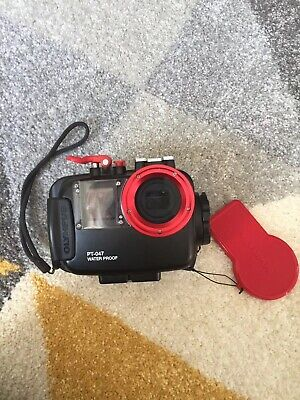 Olympus PT-047 Underwater Housing Water Proof Camera Case Great Condition
