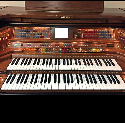 LOWREY PAGEANT ELECTRIC Organ 43 W X 36 T X 24 D Matching