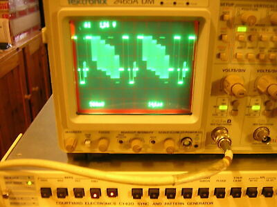 Courtyard Electronics CY420 Sync & Pattern Generator SPG - Mint condition
