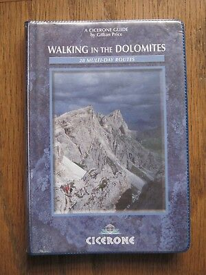 NEW Walking in the Dolomites: 28 Multi-Day Routes (Cicerone, 2005, Vinyl Bound)