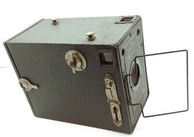 Vintage RARE 120 roll Ensign Box Camera Made by Houghtons London