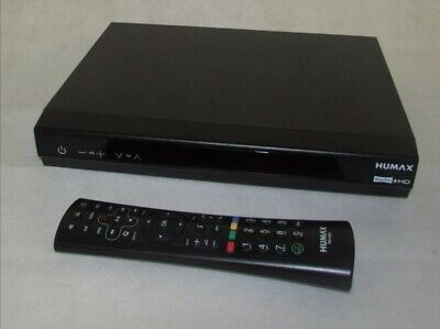 Humax HDR-1800T 320Gb Freeview WiFi Ready With HD Tv Recorder RF872 + Remote