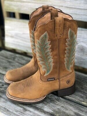 10027391 Ariat Women's Hybrid Rancher Crossfire Square Toe Western Boot