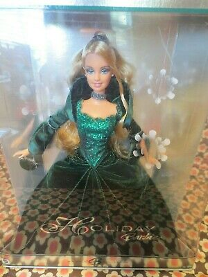 Holiday Barbie Collector Doll 2004 Christmas Special Edition NIB Green Gown