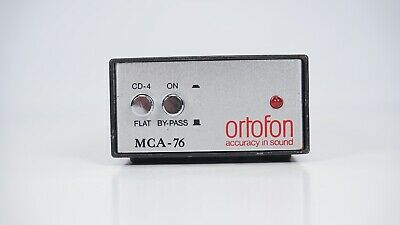 Ortofon MCA-76 Moving Coil Cartridge Head Amplifier - Step-Up - Phono