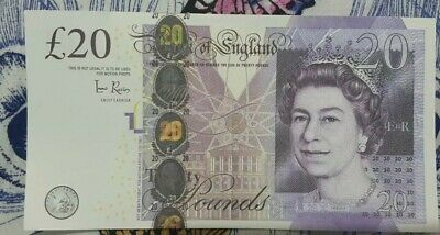 2 x £20 Pound GBP Note Party,Realistic Prop Money fake NOT FOR USE, PROP ONLY