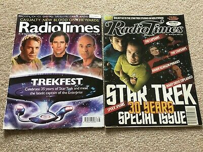 Star Trek - Radio Times 30th & 35th Anniversary Special Editions (Wales/West)