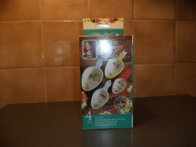 HTF Winter Bouquet New The Pioneer Woman Ceramic Measuring Spoons