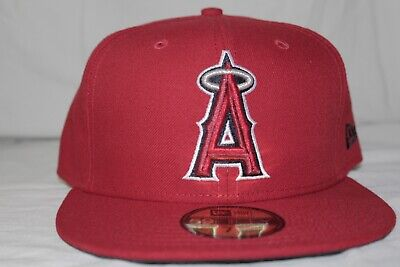 New Era 59Fifty Hat Mens MLB Los Angeles Angels of Anaheim Collectibles 7 1/2