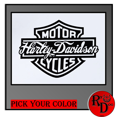 Harley Davidson Decal / Sticker Logo Classic Motorcycle
