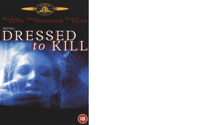 dressed to kill dvd angie dickinson nancy allen michael caine