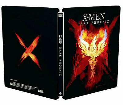Steelbook X-MEN: Dark Phoenix (BLU-RAY Disc) Ultimo Capitolo Saga, Sophie Turner