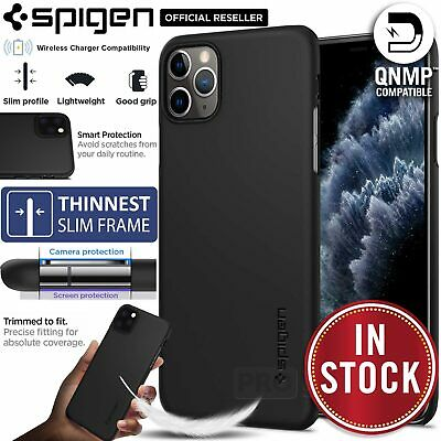iPhone 11 Pro XR XS MAX X Case Genuine SPIGEN Ultra THIN FIT SLIM Hard Cover