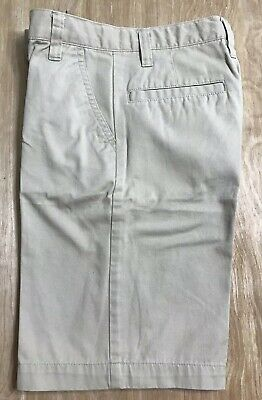 Old Navy Boys Khaki  Adjustable Waist pleated Front Uniform Shorts NWT Asst Size