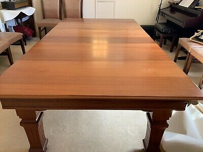 Full Size John Taylor Of Edinburgh Snooker Table Re Clothed