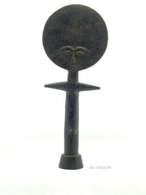 "Anhänger Messing Akwaaba Puppe /""fertility doll/""  Ghana Ashanti lost wax method"