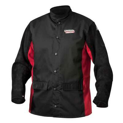Lincoln Electric K2986 Shadow Split Leather Sleeved Jacket, Large