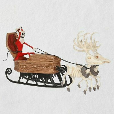 Hallmark 2019 The Nightmare Before Christmas Here Comes Sandy Claws Ornament